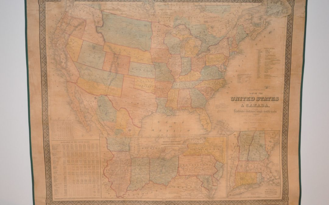 Goldthwait's Map of the United States & Canada