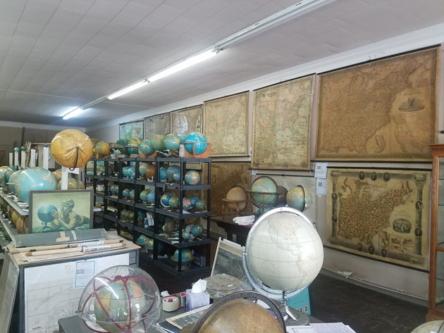 A Visit to Murray Hudson Antique Maps