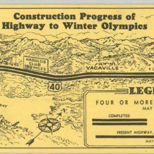 Reno strip map