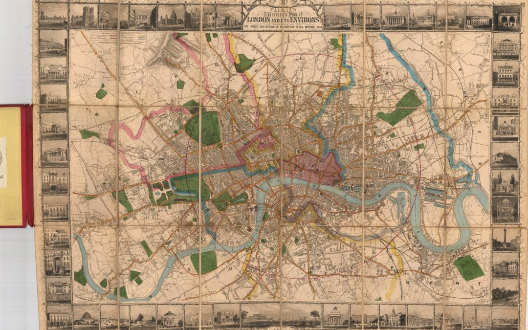 Tallis's Illustrated Plan of London